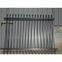 1.5m, 1.8m, 2.1m H Steel Spear Top Security Fence Panel