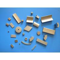 Buy cheap Neodymium Strong Permanent Magnets , NdFeB Magnet For Motors N35UH N35SH product
