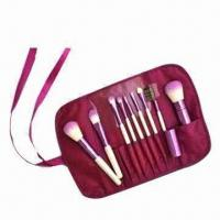 Buy cheap Wooden Cosmetic Set with Nylon Brush product