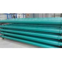 China ST52 Concrete Pump Pipes , Concrete Delivery Pipes Powder Painted Baked Surface on sale