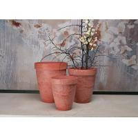 Buy cheap Round Fashionable Indoor Decorative Planters Plain Recycled Patented SPW from wholesalers
