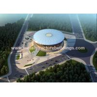 Buy cheap Long Span Construction Steel Frame , Pre Engineered Metal Building Systems product