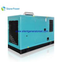 Buy cheap 40kw 50 Kva Silent Diesel Generator Set With Cummins 4 Cylinder Engine from wholesalers