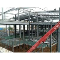 Buy cheap Multi - Floor Building Steel Frame Fabrication With Aluminum Alloy Window product