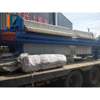 China 870 type Separation Dewatering Filter Press  / Membrane Filter Press Used in construction site on sale