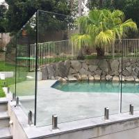 Buy cheap High Quality Tempered Glass Swimming Pool Fence Philippines Price product