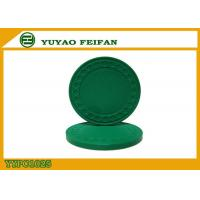 Buy cheap One Color Diamond Light Clay Poker Chips 8 Grams With Soft Feeling 40 * 3.3mm product