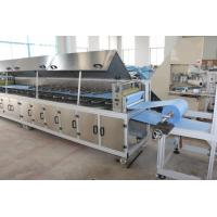 Buy cheap Camber Shape Disposable Glove Machine 11KW Blue Color PLC Control System product