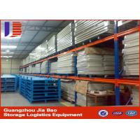 Buy quality red long span Pallet Steel Storage Heavy Duty Storage Racks for Warehouse at wholesale prices