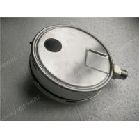 Quality 6 Inch All Stainless Steel Liquid Filled Pressure Gauge with Shrink Bezel for sale