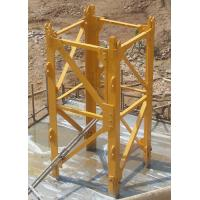 Buy quality Q345B Steel tower Crane Spare Parts Mast Section For conehead tower crane at wholesale prices