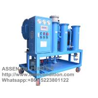 China Portable Coalescence separation Oil Purifier,Water Oil Separator System Machine on sale