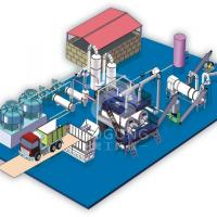 China High Capacity Poultry Waste Rendering Plant / Chicken Waste Rendering Plant on sale