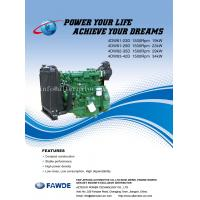 Buy cheap 17KW-34KW 4DW Series of FAW Diesel Engine product
