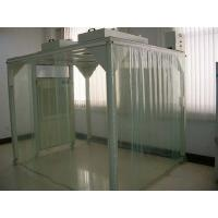 Buy cheap Portable Softwall Modular Clean Room / Class 100 Clean Booth Class 1000 from wholesalers