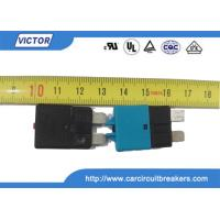Buy cheap Car Fuse Auto Reset Circuit Breaker , DC 30A 28V Resettable Circuit Breakers product