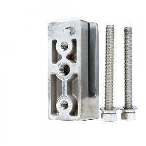 Buy cheap Wholesale Custom Frameless Glass Railing Stainless Steel Glass Pool Fence Spigot product