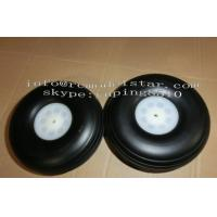 Buy quality Sponge Wheel / PU Wheel RC Plane Accessories With Aluminum Core at wholesale prices
