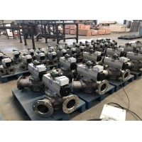 Buy cheap Precision Casting Fully Closed DN100 3 Way Reversing Valve product