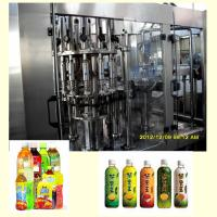 Buy cheap Fully Automatic Tea Hot Filling Machine / Packaging Machine 6000BPH 500ml Capacity product