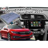 Buy cheap Google Igo Car Navigation Box Interface , Honda Civic Dvd Navigation System from wholesalers