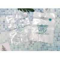 Buy cheap Hdpe Biodegradable Die Cut Handle Plastic Bags For Supermarket Easily Wipes Clean product