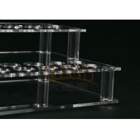 Buy cheap Customized Clear Acrylic Makeup Display Stand Lipstick Display Holder product