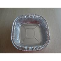 Square Stackable Aluminum Foil Takeaway Containers Recycling For Instant Noodles