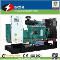 Buy cheap Hot-selling 250Kva CUMMINS diesel power generator set open types with fuel tank product