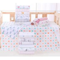 Buy cheap Printed Pattern Multi Functional Baby Cotton Bath Towels 140g Weight Of Fabric product