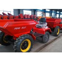 Buy cheap 1000kg Site Dumper With Manual Discharge Mode And 4x2 Wheel Driving product
