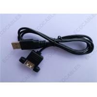 Black UL2725 A/M To A/F USB Extension Cable For Signal