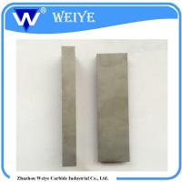 Buy cheap Chemical Resistance Tungsten Carbide Sheet , Industrial Carbide Wear Strips product