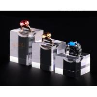 Buy cheap Cube Crystal Jewellery Display Stands product