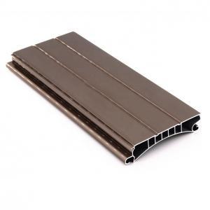 Buy cheap 6063 Aluminium Door Extrusion Shutters Aluminum Roller Shutter Profiles product