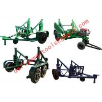 Buy cheap cable drum table, new type Cable Conductor Drum Carrier product
