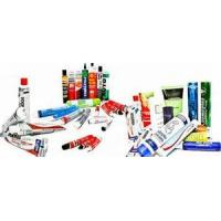 Buy cheap Printed Logo Collapsible Aluminum Tubes For For Pharmaceutical / Ointments , Ultraviolet Sterilization product