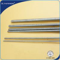 Buy cheap M6~36 High Tensile Threaded Bar , Stainless Steel Threaded Rod For Auto Engine product