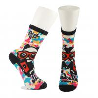 Buy cheap Adults  OEM Service  Breathbale Eco-friendly Custom Made Size 3D-Printing Socks product