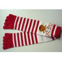 ankle cotton five toes socks
