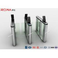 Buy cheap Acrylic Swing Access Control Turnstiles Face Recognition For Business Building product