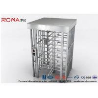 Buy cheap High Safety Pedestrian Turnstile Security Systems Semi-Auto Mechanism Housing With CE Approved Indoor and Outdoor product