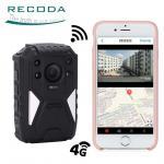 Buy cheap RECODA 4G Wifi Body Camera Law Enforcement Recorder Police Body GPS WIFI Wearable product