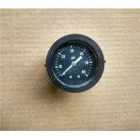 "Buy cheap 1.5"" Back Entry Standard Pressure Gauge with Plastic Case Black Color product"