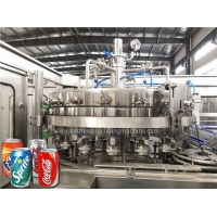 Buy cheap SS316 Multihead 6000cans/H Aluminium Beer Can Filling Machine product