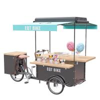 Buy cheap Mobile Street Food Cart User Friendly For Snack Cotton Candy Vending product