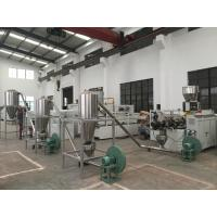 Buy cheap Stable Running Gearbox Plastic Pellet Making Machine 1000mm Central Height product