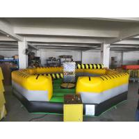 Buy cheap 6x6m size cool design inflatable rotary machine game for 6 player product