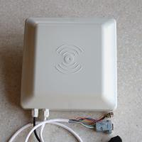 Buy cheap 5m 8dbi Antenna uhf rfid Reader 860~960MHz Portable Wiegand 26/34 RS485/232 product