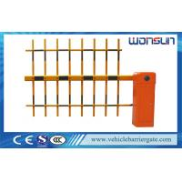 Buy quality Aluminum Alloy 1-4.5 Meters Electric Barrier Gate Three Fence Arm Backtrack at wholesale prices